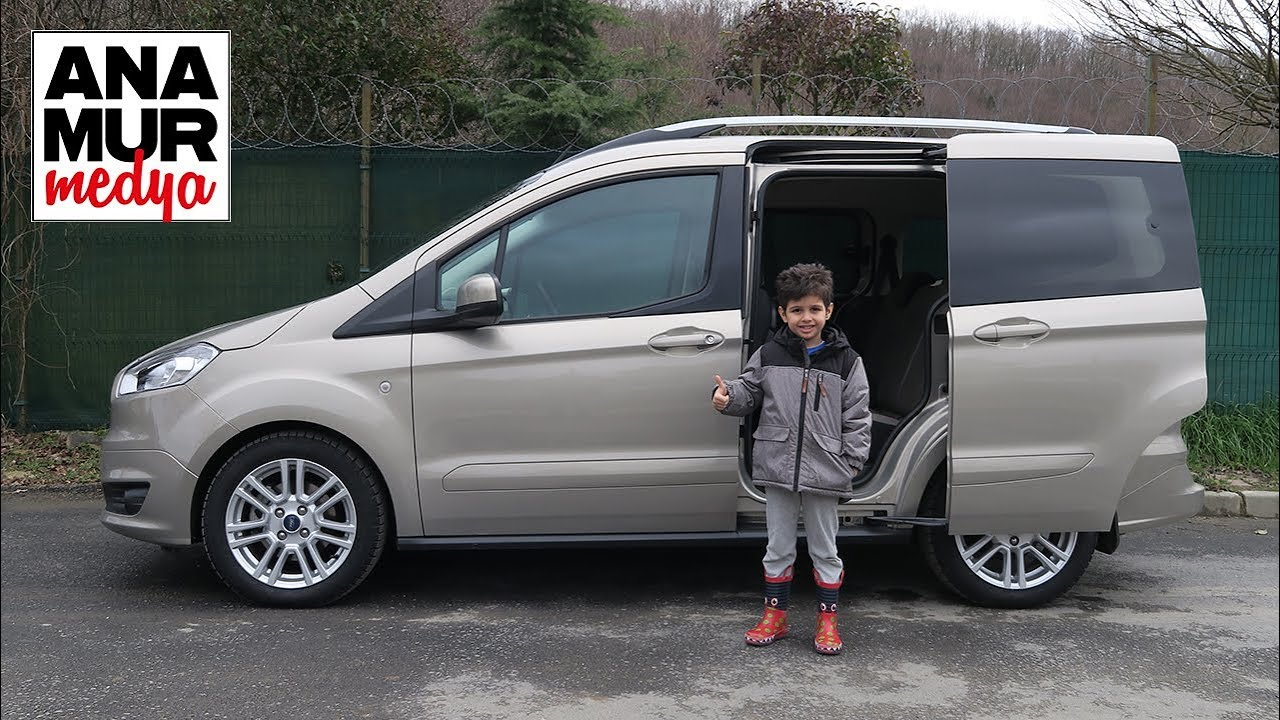 Ford Tourneo Courier 2017 Baba Ogul Test Youtube
