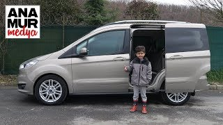 Ford Tourneo Courier 2017 Baba Oğul Test