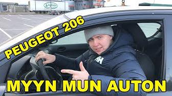 MYYN MUN AUTON - MYYNTIESITTELY VIDEO - PEUGEOT 206 1.4HDI