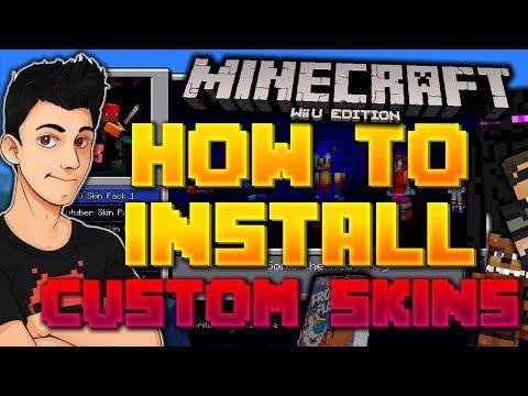 How To Perma Install Custom Skins On Minecraft Wii U Doovi