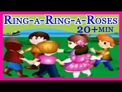 Ring - a - Ring - a - Roses - Non Stop Song in   Nursery Rhyme
