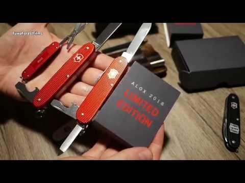 Victorinox Classic Cadet Pioneer Alox Limited Edition 2018 | Werkzeug EDC Gear Multitool