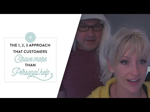 Personal Probs Series - The 1, 2, 3 approach that your customers crave more than personal help
