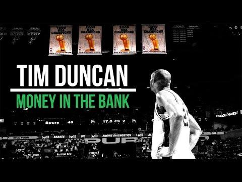 Tim Duncan - Bank Shots Compilation   Signature Move