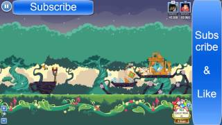 Angry Bird Friends Pig Tales LEVEL- 6 Mighty Eagle 100% & High Score:- 83,360 (FaceBook)