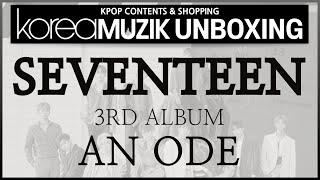 """[ENG SUB] #kpop #unboxing """"#SEVENTEEN 3rd Album - An Ode """" Kpop contents & Shopping KOREAMUZIK"""
