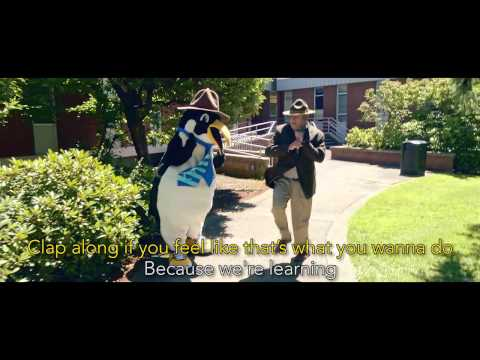 Happy (We are Clark College Penguins) - Music Video 2014   Clark College Vancouver WA