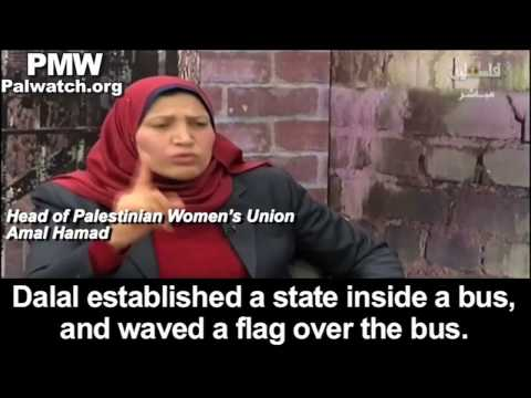 "Head of Palestinian Women's Union on Women's Day: Terrorist who led murder of 37 was ""a role model"""
