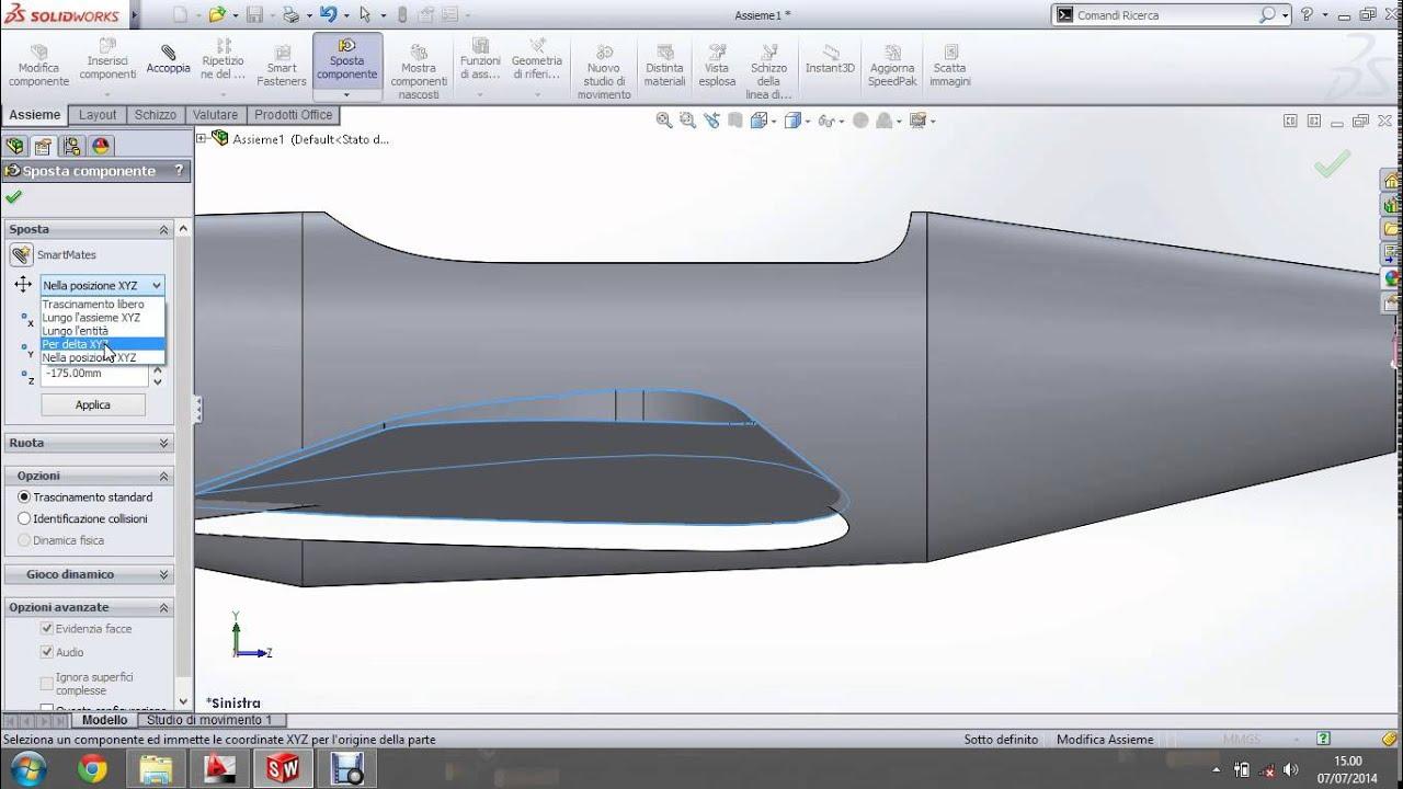 Realizzare un aeromodello in 3d ali piani di coda e for Piani di veranda chiusa gratis