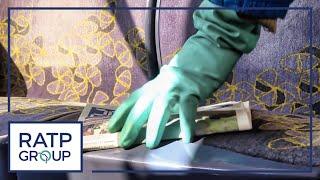 RER B  :  la propreté des trains - épisode 1