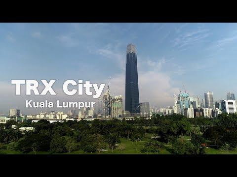 TRX CITY in Kuala Lumpur - Day & Night