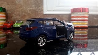 welly toy car review hyundai tucson