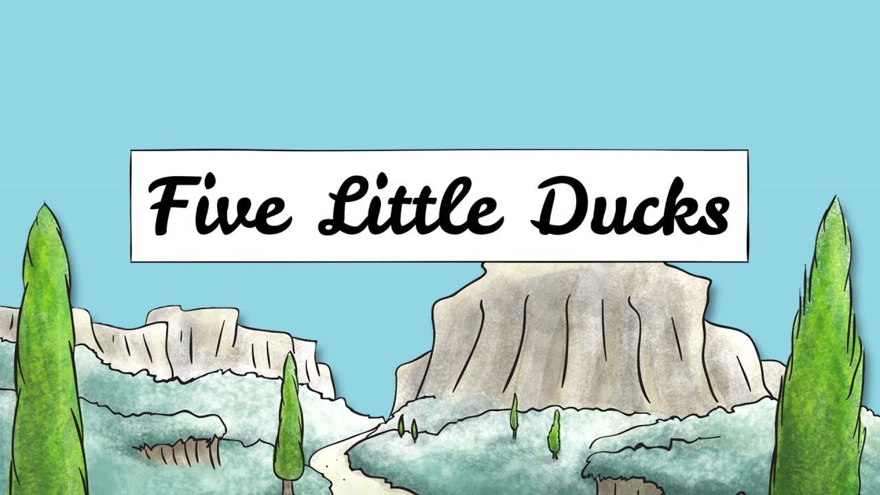 Five Little Ducks Nursery Rhyme Australian Tune Version By One Seed