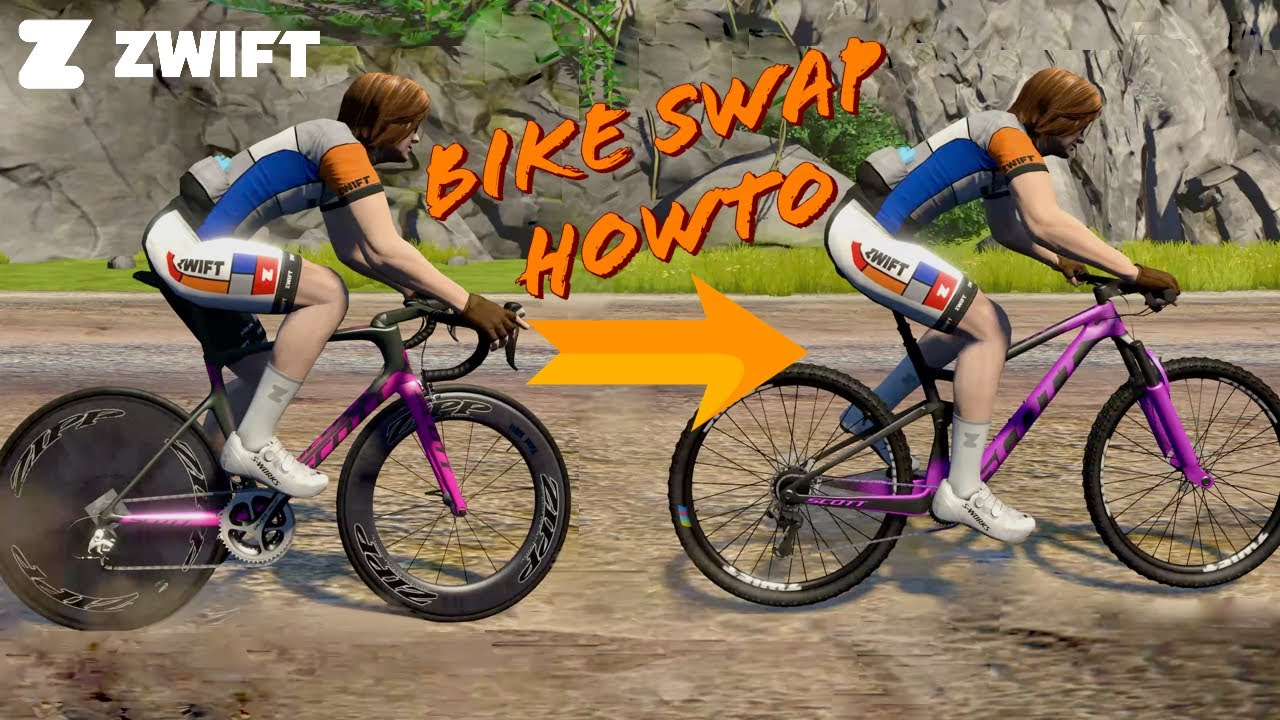 Swift Zwift Tip Swapping Bikes In Game Fast Youtube