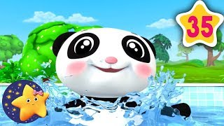 How To Swim Song | Fun Learning with LittleBabyBum | NurseryRhymes for Kids