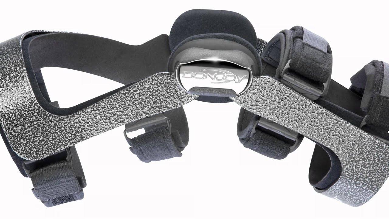 433f5d9da5 DonJoy Armor FourcePoint Knee Brace Overview - YouTube