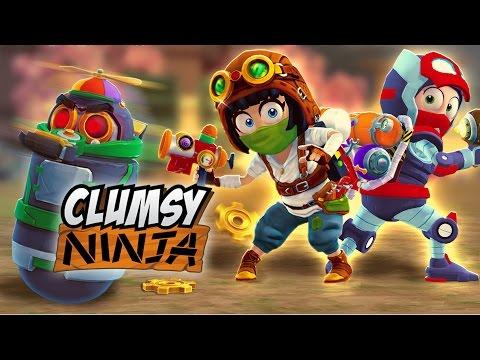 Clumsy Ninja - Wacky Inventions!