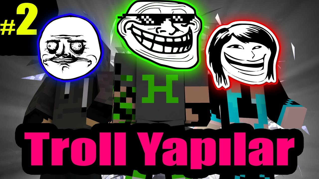 Minecraft Troll Yapılar #2 /w Youtuber Ekip