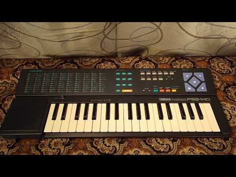 Yamaha PortaSound PSS-140 Keyboard Demo Song