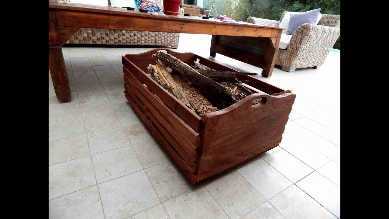 C mo hacer una carreta r stica para guardar le a udiyo for Casas de madera para guardar herramientas