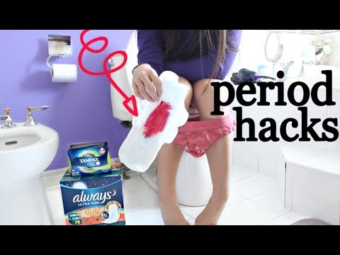 My PERIOD MORNING ROUTINE   Hacks EVERY Girl NEEDS To Know !