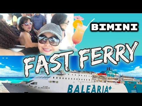 Fast Ferry Ride To Bimini, Bahamas