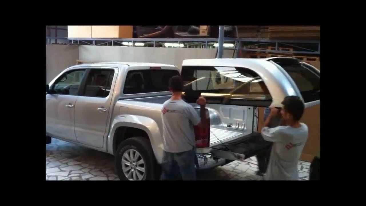 & Australian Ute Canopy Installation Video - YouTube