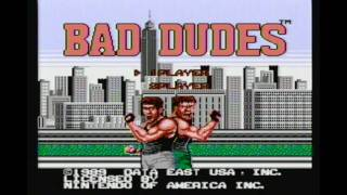 CLASSIC GAMES REVISITED - Bad Dudes (Nintendo NES) review