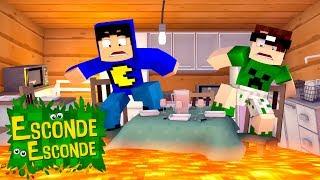 Minecraft: O CHÃO É LAVA! (Esconde-Esconde)