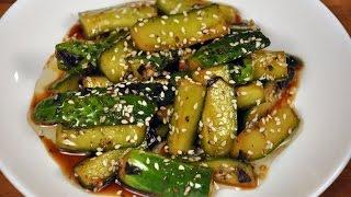 Огурцы по корейски  Закуска за 30 минут
