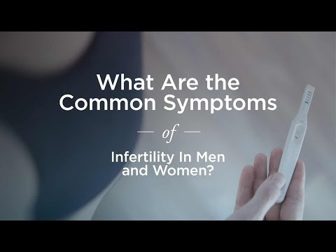 TOP 5 Common Signs of Infertility in Men and Women
