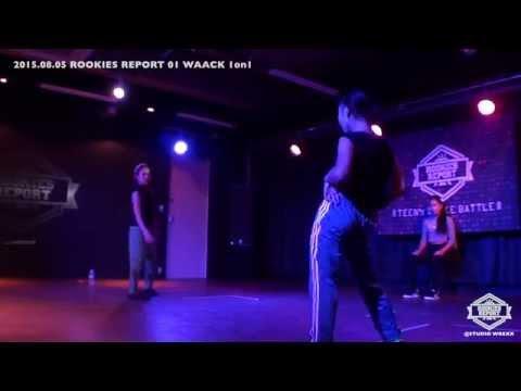 MARINA vs 莉多|ROOKIE'S REPORT 01 WAACK 1on1|Final