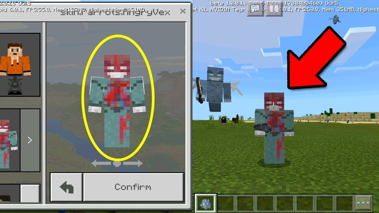 FREE Mob Skin Pack For Minecraft Pocket Edition Beta Skin - Skins para minecraft pe 0 15 2