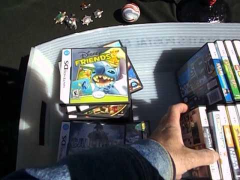 Sterling Turtles Jewelry Video Games. Jubilee Park, Clifton, NJ Flea Market Finds - 5/26/13