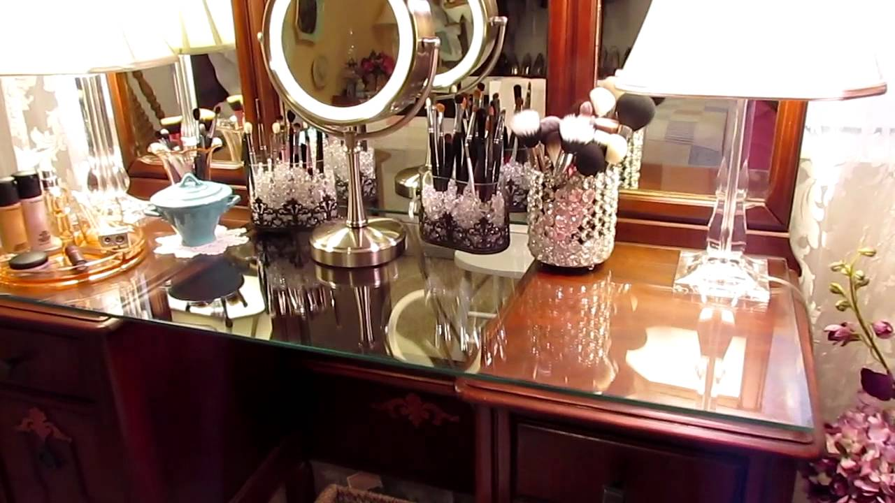 My Vanity Table Gets A Makeover Gotta Love It YouTube