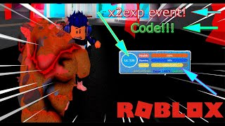 Roblox | Event x2exp xuất hiện và code 170k like - Boku No Roblox : Remastered (Code) | Daiki Kid