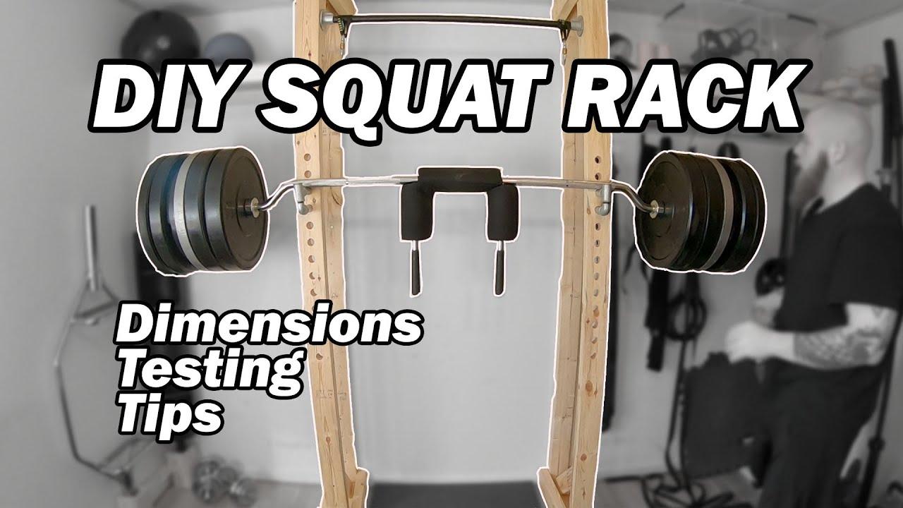 how i built my wooden squat rack diy squat rack in depth look at my wooden squat rack