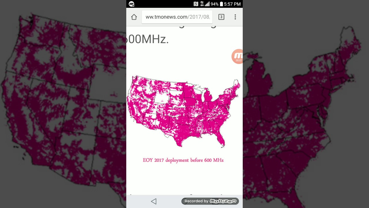 T Mobile Says This Is How Much Coverage They Will Have By The End Of     T Mobile Says This Is How Much Coverage They Will Have By The End Of 2017