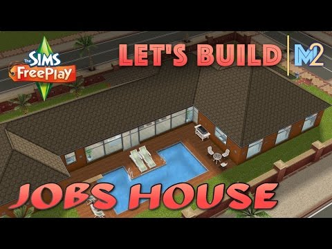 Sims FreePlay - Let's Build Steve Jobs's House (Live Build Tutorial)