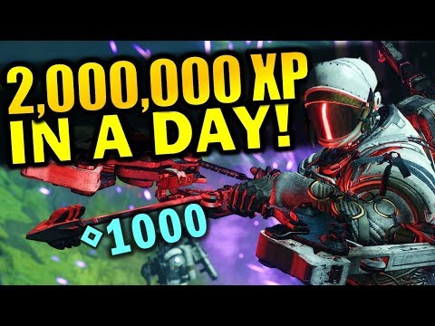2 MILLION XP In A Day! - Best XP Farming Method | Destiny 2: Shadowkeep