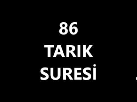 86 TARIK SURESİ