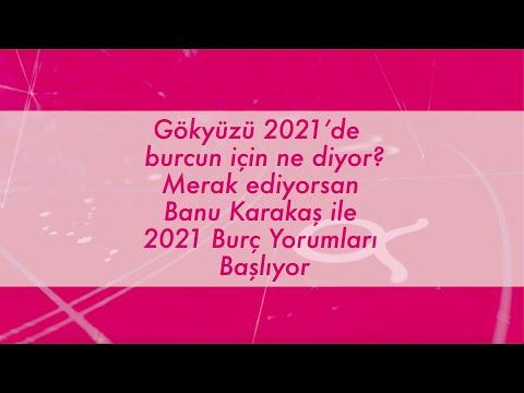 Banu Karakaşlar ile 2021 Burç Yorumları