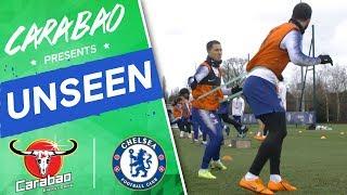#Hazard & #Higuain Partnership Growing, Joe Cole In Volleys Drill   Chelsea Unseen
