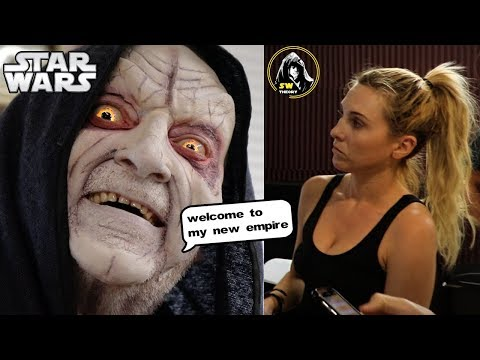 Palpatine First Makeup Test!  Star Wars Theory Vader Fan Film