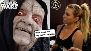 Palpatine First Makeup Test! - Star Wars Theory Vader Fan Film