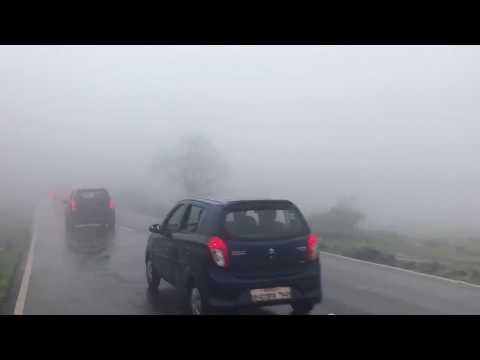 lonavala weather today lonavala to pune Road Dense Fog on road