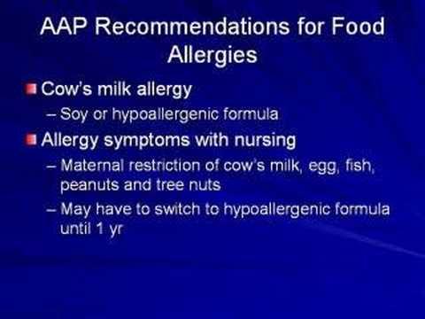 Hypo-allergenic Baby Formulas