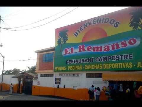"""Cumbia, fiesta y chapuzón en el """"Remanso"""" de Lima Norte"""
