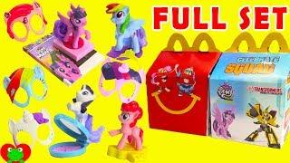 Скачать 2017 My Little Pony The Movie McDonald S Happy Meal Toys Full Set