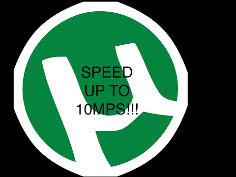 How To Make Utorrent Download FASTER (mac Version) Updated February 2015